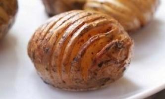Популярні картопляні дієти: докладний меню