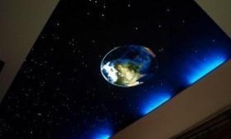 Стеля «сонячна система»: інструкція по монтажу