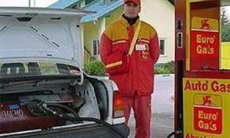 Правила експлуатації газобалонного автомобіля