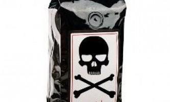 """""""Передсмертний бажання"""" - найміцніший кави в світі"""