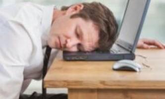При недосипанні мозок перестає працювати