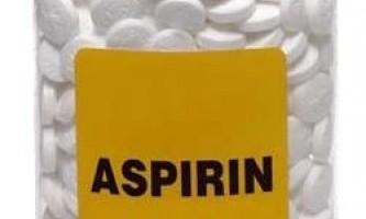 Застосування аспірину