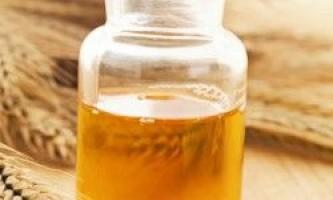 Застосування масла зародків пшениці