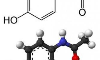 Застосування парацетамолу
