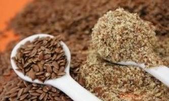 Застосування насіння льону