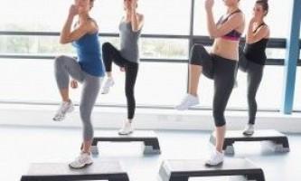 Програми тренувань для степ-аеробіки