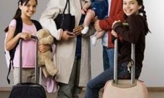 Подорож з дитиною: що взяти з собою?