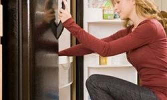 Розморожування і миття холодильника