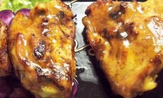 Рецепт гомілки курки в духовці