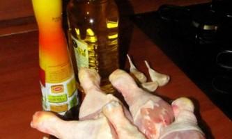 Рецепт курячих ніжок в соусі теріякі