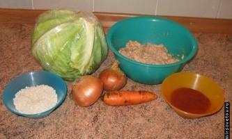 Рецепт приготування голубців