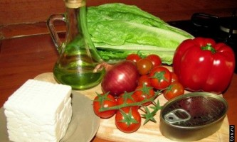 Рецепт салату з тунцем
