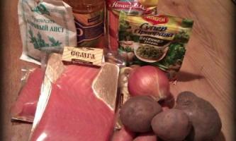 Рецепт юшки з червоної риби