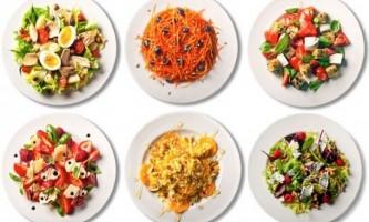 Рецепти салатів з фотографіями
