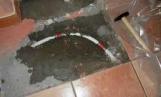 Ремонт теплої підлоги