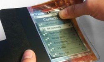 """Революційний """"паперовий"""" комп`ютер - гнучке майбутнє смартфонів і планшетів"""