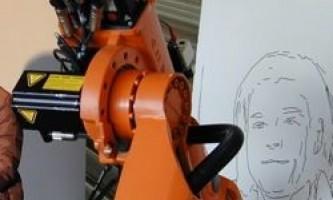 Робот, який малює портрети