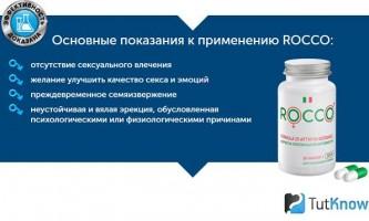 Rocco - препарат для потенції