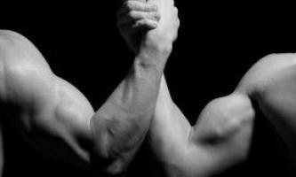 Роль зв`язок і сухожиль в армрестлінгу