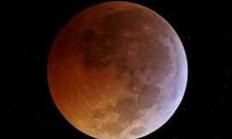 """""""Рожева"""" місяць принесе перший місячне затемнення 25 квітня 2013"""