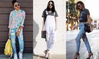 З чим носити рвані джинси?