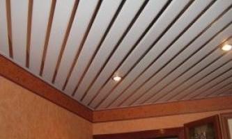 Сайдинг на стелю: особливості монтажу