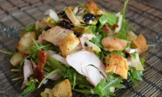 Салат з індички - рецепт