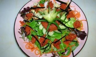 Салат пікантний - рецепт