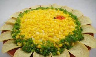 "Салат ""соняшник"" - рецепт"