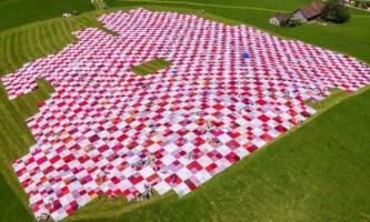 Найбільше покривало для пікніка