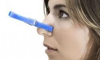 Найефективніші засоби від закладеності носа