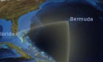 Самі таємничі місця в морях