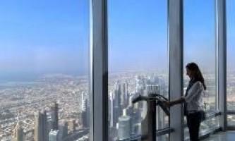 Найвищий в світі хмарочос тепер має оглядовий майданчик на висоті 555 м
