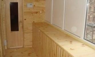 Сауна на балконі: технологія будівництва