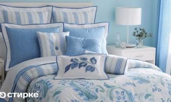 Секрети прання білої та кольорової постільної білизни