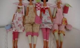 Шиємо ляльок: пупсика, норвезьку тильду і бабусю