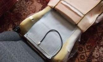Схема підключення обігріву передніх сидінь в автомобілі ваз 2110-12