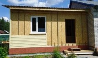 Щитова лазня: технологія будівництва