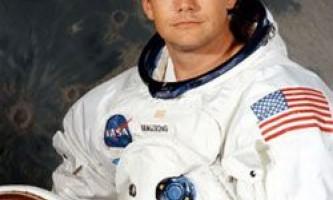 Помер ніл амстронг - перша людина, що ступила на місяць