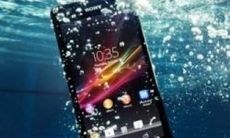 Смартфон sony xperia zr дозволяє знімати hd фото і відео під водою
