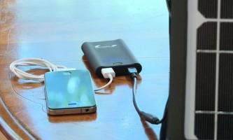 Сонячна електростанція зарядить ваш телефон як від мережі