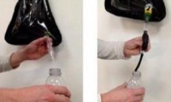"""""""Сонячна сумка"""" очищає воду під час ходьби"""