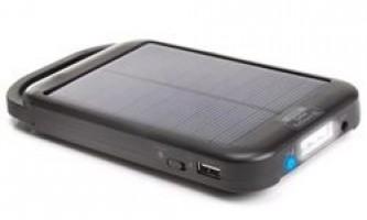 Сонячні батареї для живлення телефону далеко від дому