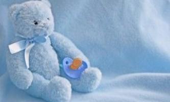 Соска-пустушка для новонароджених