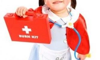 Склад дитячої аптечки