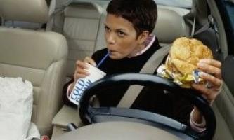 Поради по дієті для автомобілістів