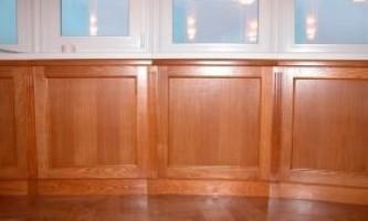 Поради по установки дерев`яних панелей