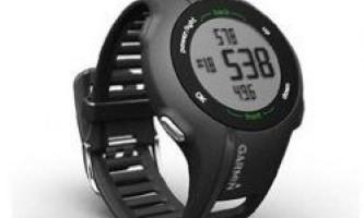 Спортивні годинник garmin forerunner 910xt контролюють тренування
