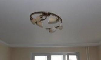 Склополотно на стелю: особливості використання