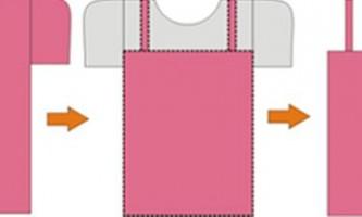 Стильні сукні, спідниці зі старих футболок